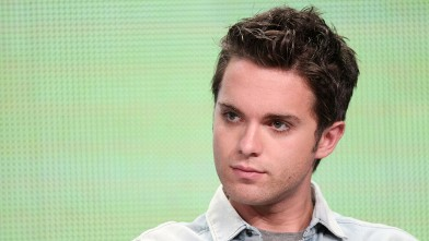 PHOTO: Actor Thomas Dekker speaks during 'The Secret Circle' panel at the Beverly Hilton Hotel on Aug. 4, 2011 in Beverly Hills, Calif.