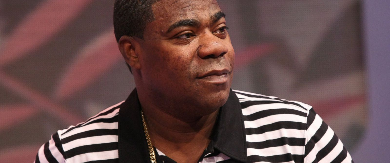PHOTO: Actor Tracy Morgan visits 106 & Park at BET studio on April 16, 2014 in New York City.