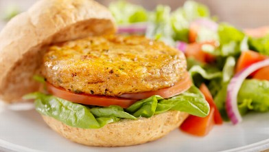 PHOTO: Veggie burger