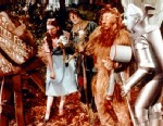 PHOTO: Judy Garland, Ray Bolger, Bert Lahr and Jack Haley in a publicity still from the 1939 film, The Wizard of Oz.