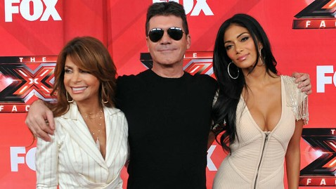 gty xfactor judges jef 120131 wblog Steve Jones and Nicole Scherzinger Depart The X Factor; Paula Abdul Out Too?