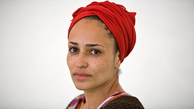 PHOTO: Author Zadie Smith poses for a portrait at The Hay Festival on June 6, 2010 in Hay-on-Wye, Wales.