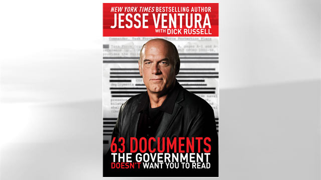 "PHOTO The cover for the book ""63 Documents the Government Doesnt Want You to Read"" is shown."