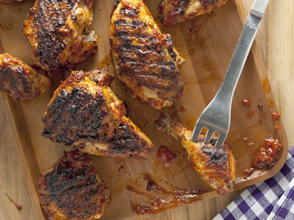 PHOTO: Katie Workmans barbecued chicken recipe is shown here.