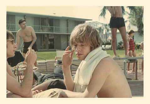 ht Brian Jones Brian towel Clearwarer Fl 65 ll 120927 wblog Found: Unseen Photos of the 1965 Rolling Stones
