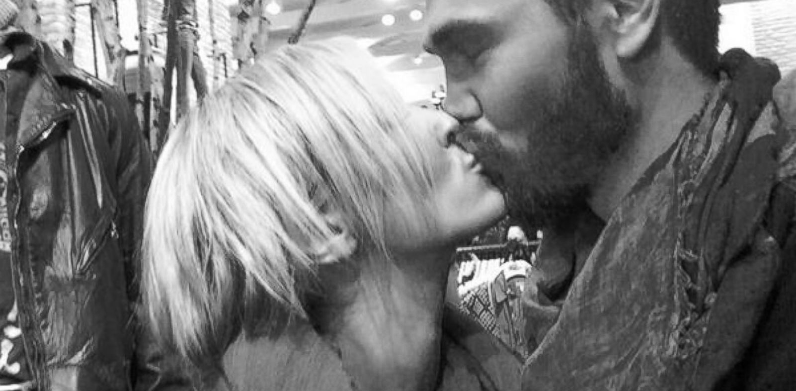 PHOTO: Chad Michael Murray tweeted this image with his girlfriend, Nicky Whelan, Oct. 30, 2013.