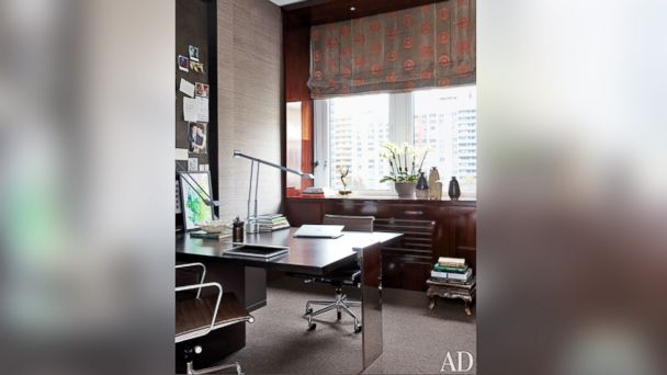 PHOTO: The office of Julianna Margulies is shown in the Feb. 2014 issue of Architectural Digest.