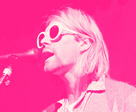 ht Kurt Cobain Singing Pink ll 120323 wblog The End of the Life of a Rock Star: Kurt Cobain