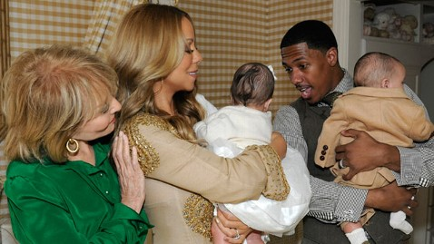 ht Mariah carey nt 111017 wblog Photo: Mariah Carey, Nick Cannon Debut Dem Babies