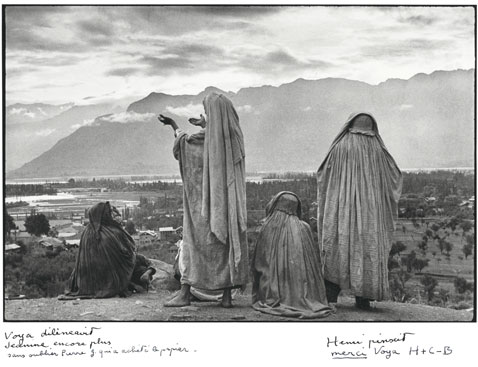 ht Srinagar Kashmir 1948 blog Rare Photos by Henri Cartier Bresson to Be Auctioned