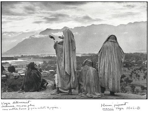 ht Srinagar Kashmir 1948 blog Rare Photos by Henri Cartier Bresson to Be Auctioned