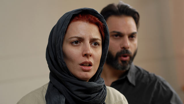 PHOTO: Leila Hatami as Simin and Peyman Moadi as Nader.