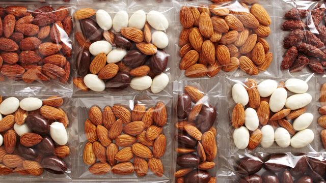 PHOTO: California almonds are shown here.