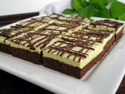 PHOTO: Chef Amy Greens chocolate mint brownies are shown here.