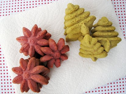 PHOTO: Chef Amy Greens spritz cookies are shown here.