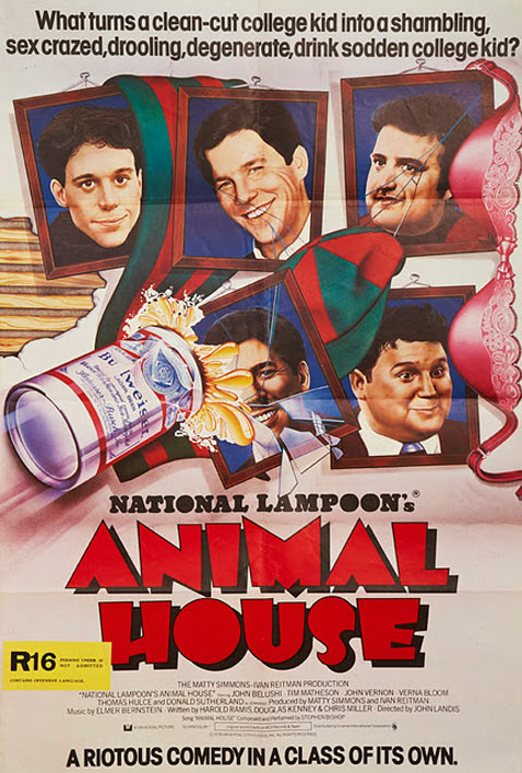 ht animal house dm 120112 vblog Movie Poster Collection for Sale   $3.5 Million