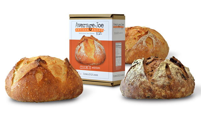 PHOTO: Average Joe's at-home bread making kit is shown here.