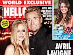 PHOTO: Avril Lavigne and Chad Kroeger were married on July 1 and appear on the latest issue of Hello! Magazine.