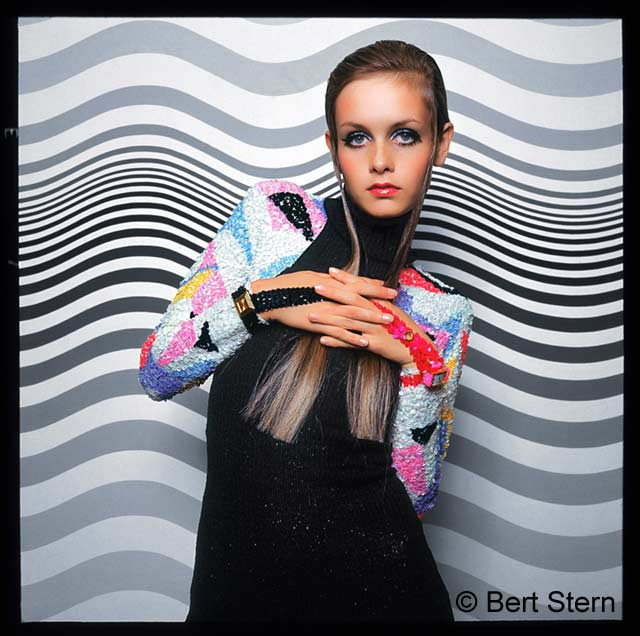 ht bert stern twiggy 130503 wblog The Original Mad Man