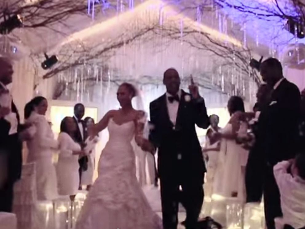Beyonce jay z wedding photos 2008