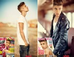 PHOTO: Justin Bieber appears in the May issue of Teen Vogue.