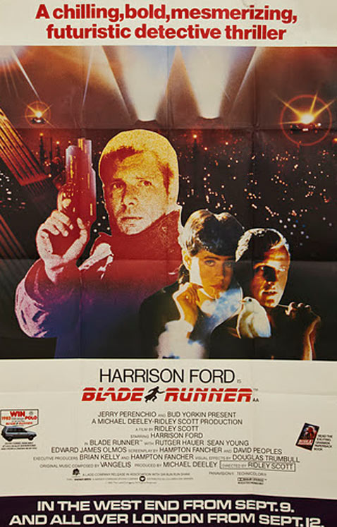 ht blade runner dm 120112 vblog Movie Poster Collection for Sale   $3.5 Million