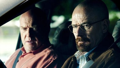 "PHOTO: Bryan Cranston earned a nod for his role as a terminal cancer patient turned drug kingpin in the AMC drama series ""Breaking Bad."""