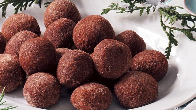PHOTO: TasteofHome.com's cappuccino truffles are shown here.