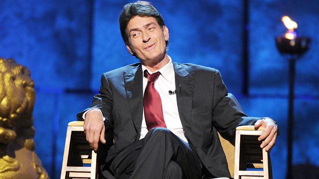 PHOTO: Charlie Sheen is seen here at his Comedy Central Roast, Sept. 19,2011.