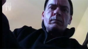 PHOTO Charlie Sheen made violent threats in the second and even more frenzied video for his self-produced web series titled Torpedoes of Truth. The video shows the chain-smoking actor talking on the phone with a camera beneath his chin.