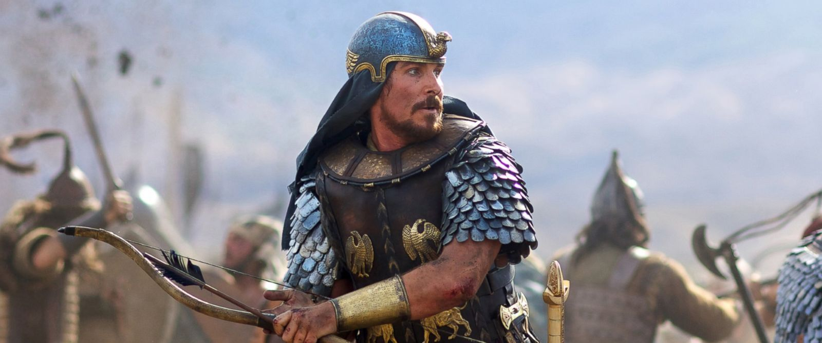 """PHOTO: Christian Bale stars as Moses in the film, """"Exodus: Gods and Kings."""""""