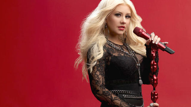 PHOTO: Christina Aguilera, a judge on the Tv show The Voice Season 2 is seen in this handout photo.