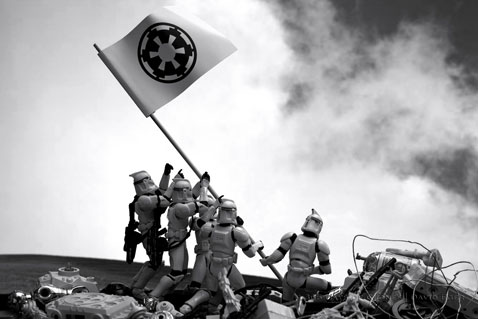 ht cloned photos 01 nt 120706 Star Wars Troopers Used by Photographer David Eger to Recreate Iconic Images