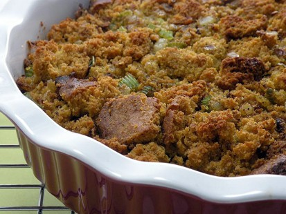 PHOTO: Amy Greens gluten-free cornbread stuffing recipe.