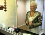 """PHOTO: Hattie, one of the women featured on TLCs """"Extreme Cougar Wives,"""" gets ready for a night out."""