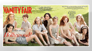 PHOTO For its 16th annual Hollywood issue, Vanity Fair highlights the young female ingénue.