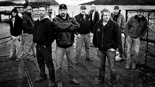 "PHOTO: Seen here is the cast of Season 7 ""Deadliest Catch."""