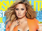 PHOTO: Demi Lovato is on the cover of the August 2013 Cosmopolitan.