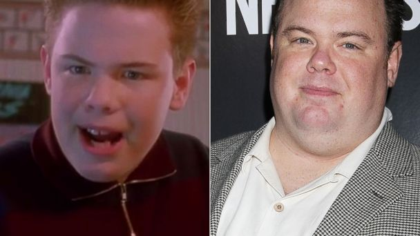 PHOTO: Actor Devin Ratray is seen int his grab from Home Alone and right, at a screening in New York City on Nov. 6, 2013.