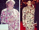 PHOTO: Instagram user lynseymullen compared Kim to Mrs. Doubtfire, played by Robin Williams in 1993.