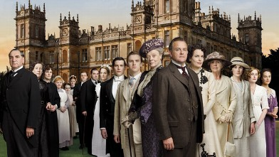 "PHOTO: Created by Emmy-winning writer Julian Fellowes, ""Downton Abbey"" depicts the lives of the noble Crawley family and the staff who serve them."