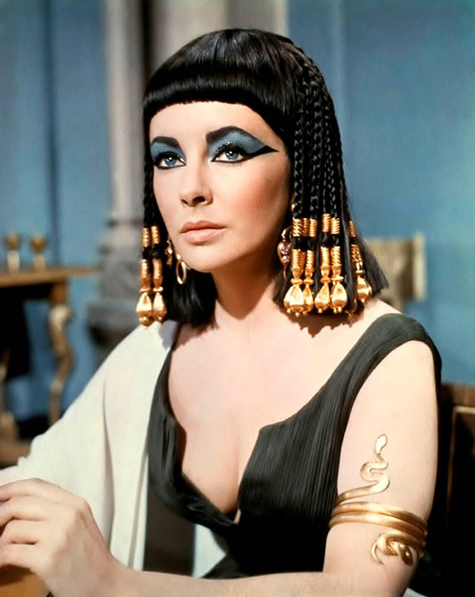 ht elizabeth taylor as cleopatra 130405 blog Rare Hollywood & Pin Up Photos on Auction