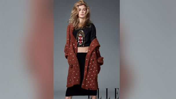 PHOTO: Ireland Baldwin posed for pictures in the September 2013 issue of ELLE.