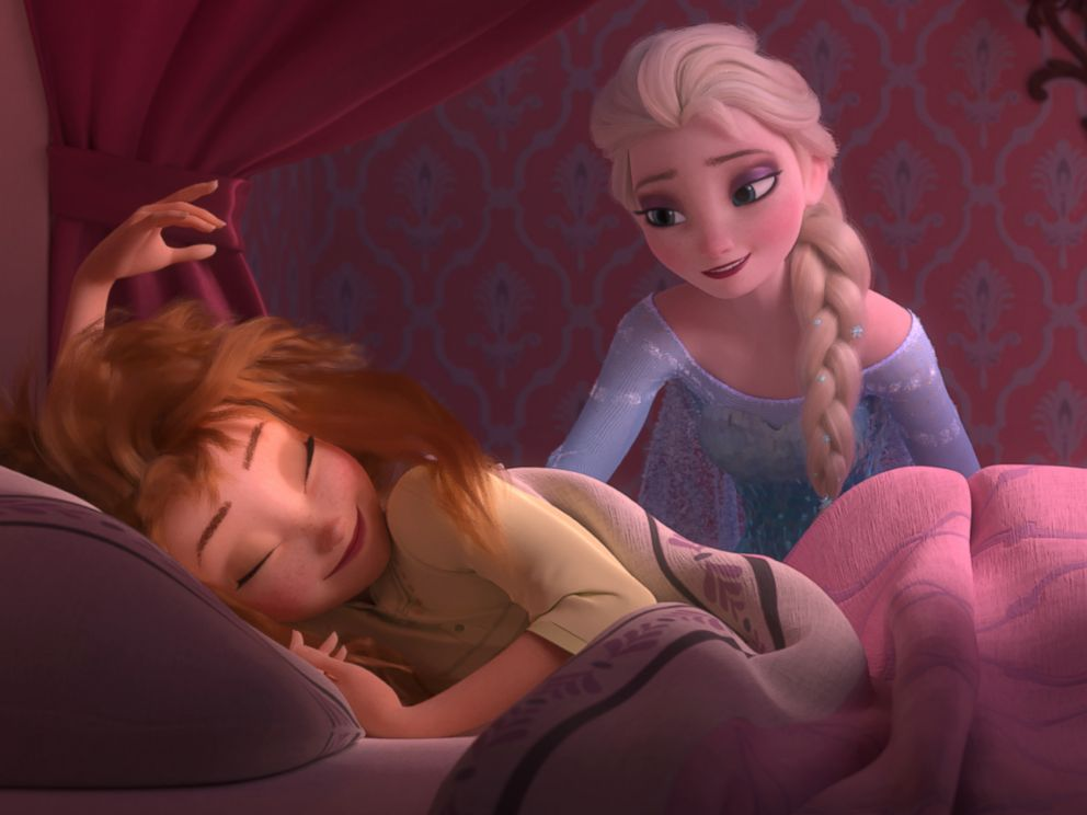 PHOTO: Anna wakes up to a very special birthday party hosted by big sister Elsa in Frozen Fever.