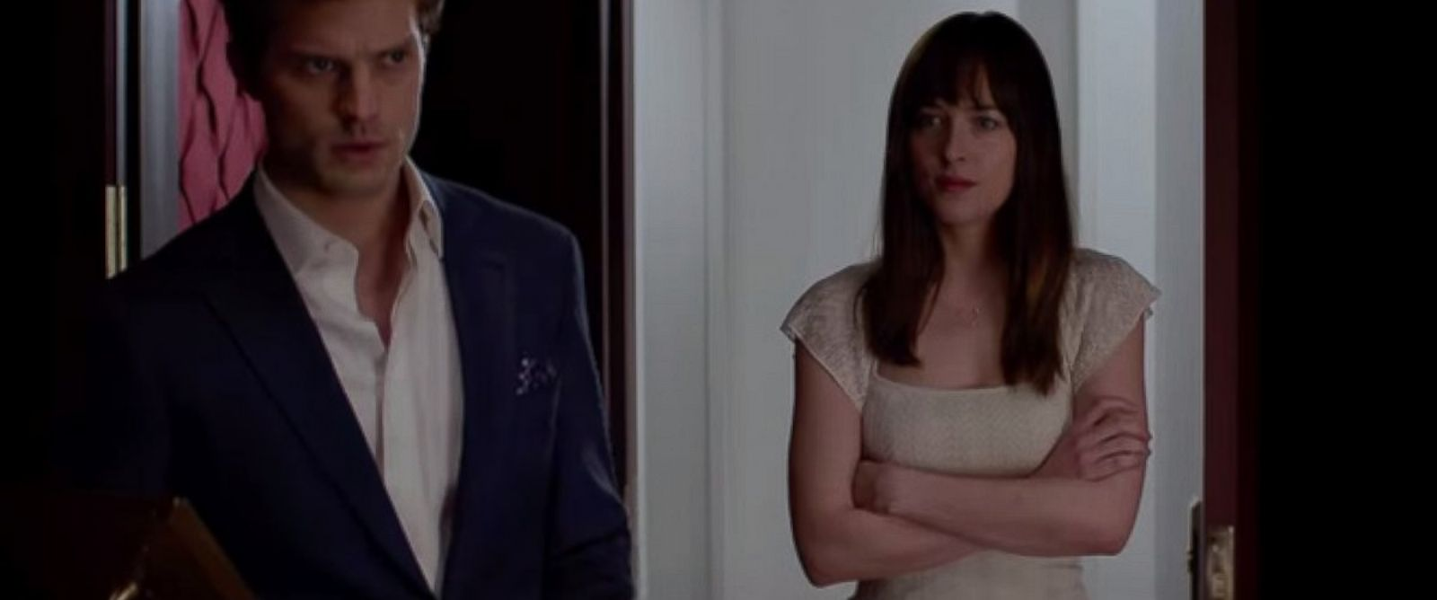 PHOTO: The official Fifty Shades of Grey trailer.