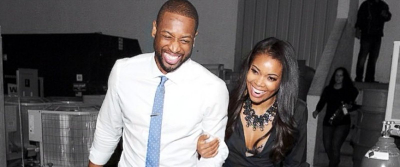 """PHOTO: Gabrielle Union posted this image to her Instagram on March 16, 2014 with the caption, """"About last night... #pearlchampagnelounge."""""""