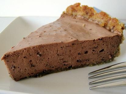 PHOTO:??Amy Greens gluten-free chocolate cream pie.