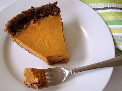 PHOTO:??Amy Greens gluten-free pumpkin pie.