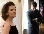 PHOTO: First look of Ginnifer Goodwin as First Lady Jacqueline Kennedy on the set of National Geographic Channels KILLING KENNEDY, which started production this week in Richmond, Va. Nat Geo will air the television event this November.