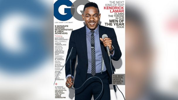 PHOTO: Rapper Kendrick Lamar appears on the Dec. 2013 cover of GQ Magazine.